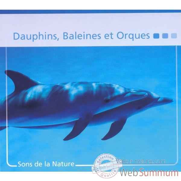 CD Sons Nature Vox Terrae Dauphins Baleines Orques -vt0192