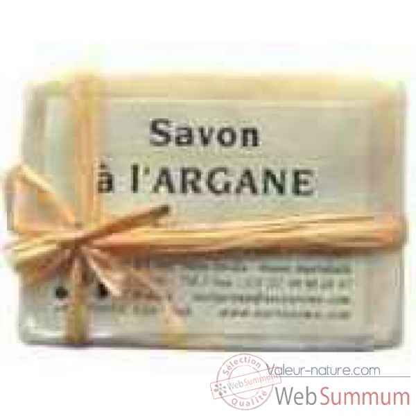 Savon rectangulaire d\'argane - 60g Nectarome France -12025W