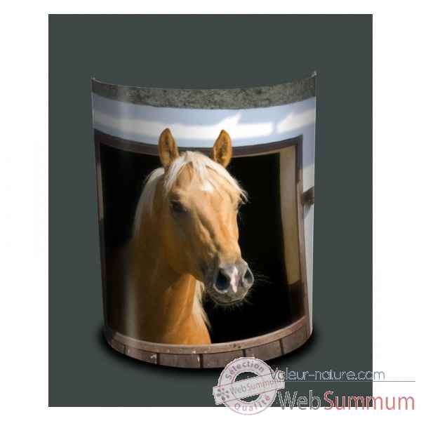 Applique murale box cheval -NOA1506APP