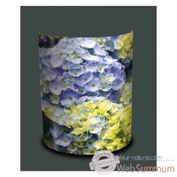 Applique murale nature hortensias parmes -NA1212APP