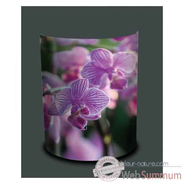Applique murale nature orchidee violette -NA1338APP