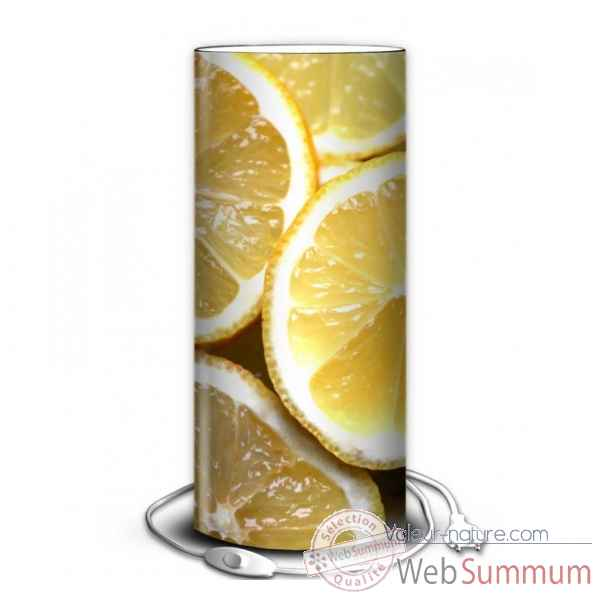 Lampe nature citron -NA1442