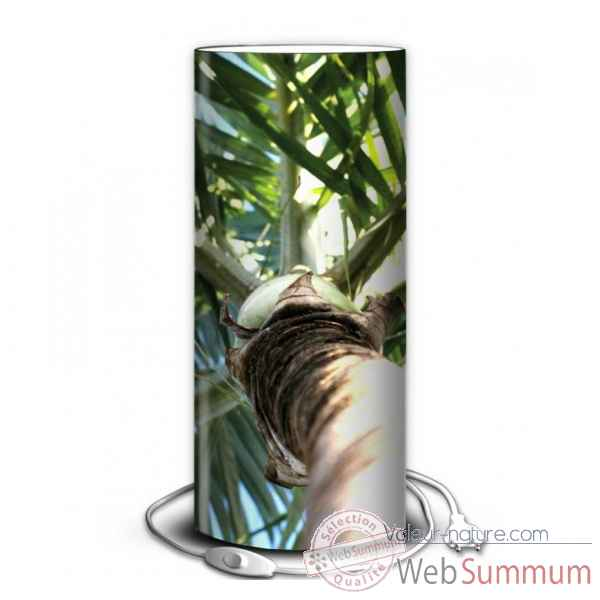 Lampe nature palmier -NA1337