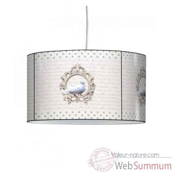 Lampe suspension charme colombe -CH1504SUS