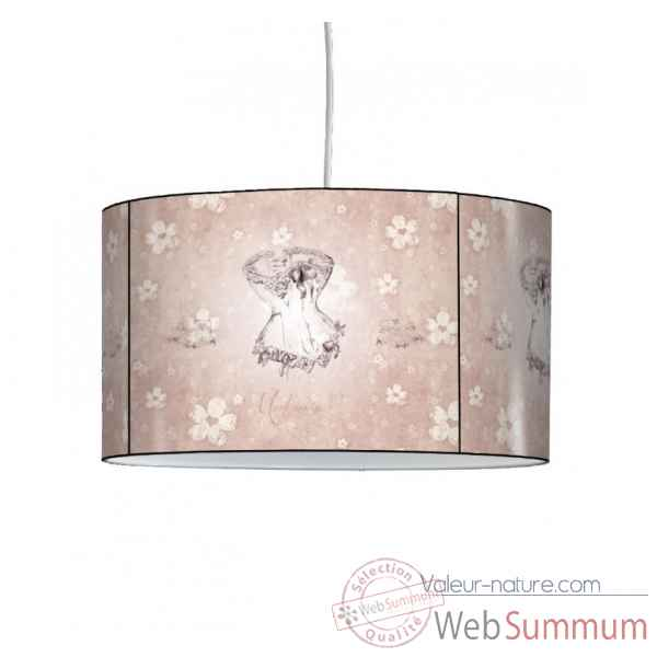 Lampe suspension charme corset -CH1519SUS