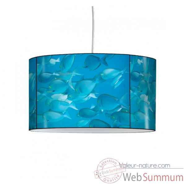 Lampe suspension faune marine poissons -FM1206SUS