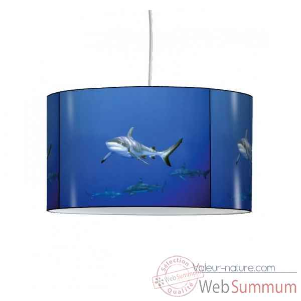 Lampe suspension faune marine requin -FM1216SUS