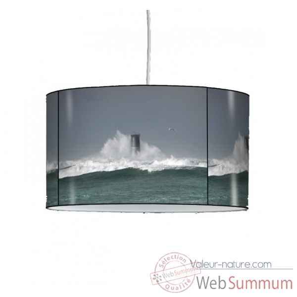 Lampe suspension marine grosse vague -MA1444SUS