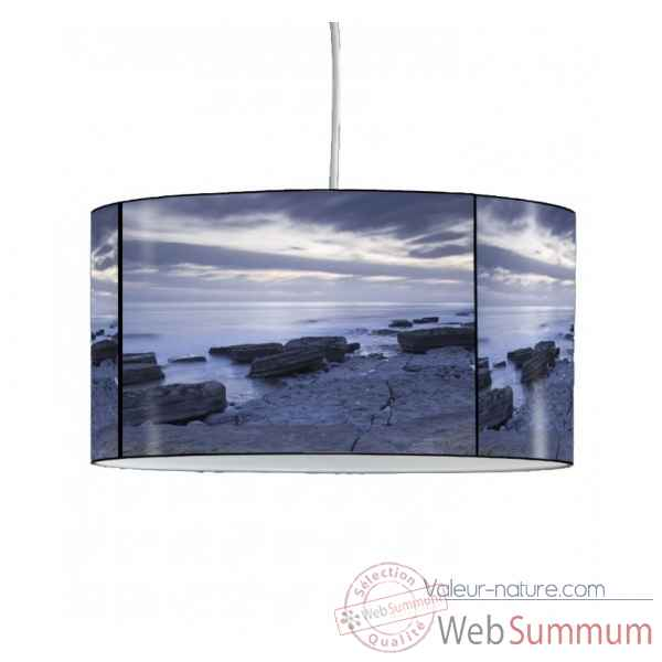 Lampe suspension marine plage et rochers -MA62SUS