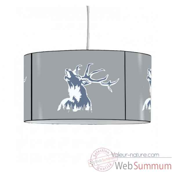 Lampe suspension montagne cerf -MO1636SUS