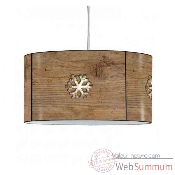 Lampe suspension montagne flocon -MO1632SUS