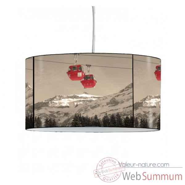 Lampe Montagne Vintage Télécabines Suspension Mo1628sus 0nmN8w