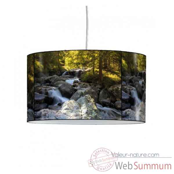 Lampe suspension montagne torrent -MO1213SUS