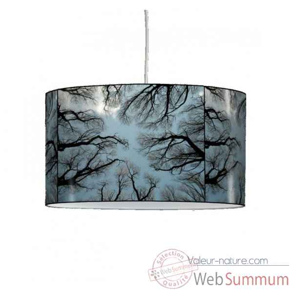 Lampe suspension nature arbres et ciel -NA1305SUS
