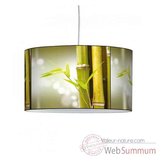 Lampe suspension nature bambou -NA1206SUS
