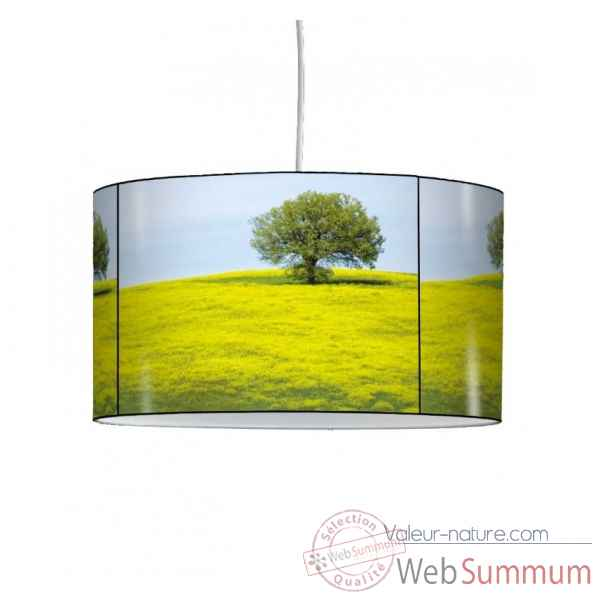 Lampe suspension nature champ de colza -NA1208SUS