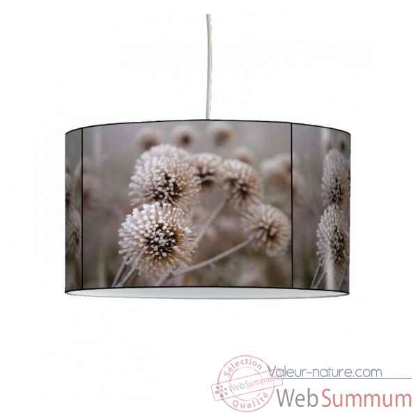 Lampe suspension nature chardons givres -NA1203SUS