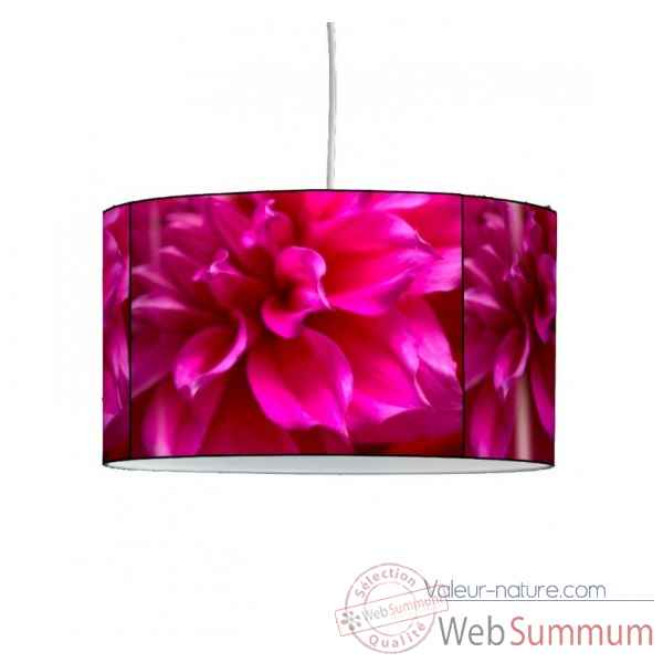 Lampe suspension nature pivoines roses -NA1545SUS