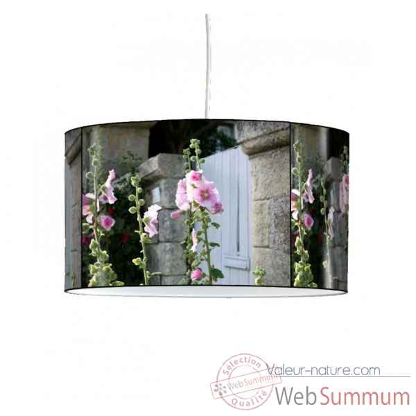 Lampe suspension nature roses tremieres -NA1336SUS