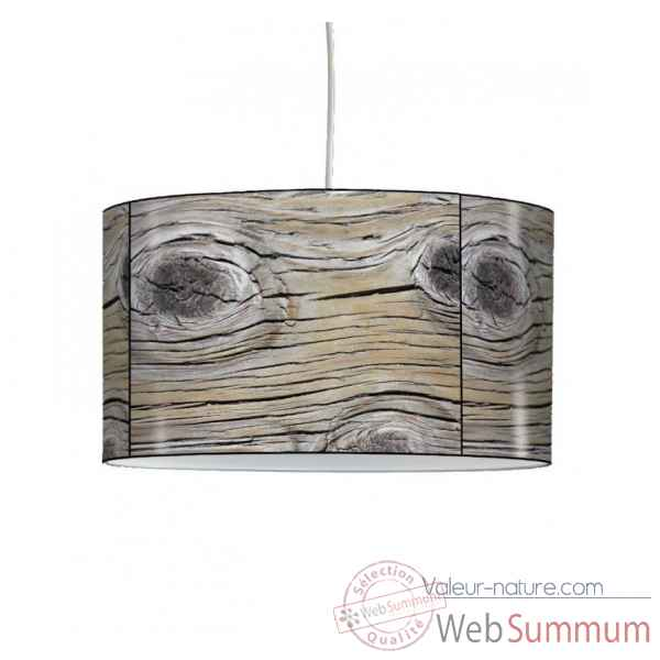 Lampe suspension nature souche de bois -NA1211SUS
