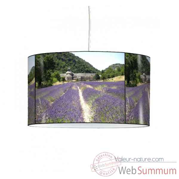 Lampe suspension sud champ de lavande et garrigue -SU1207SUS