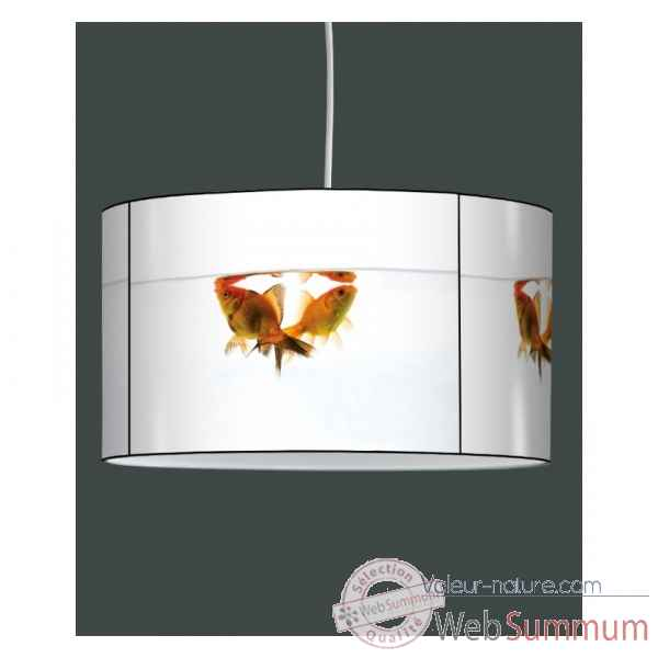 Lampe suspension tendance poissons rouges -TE1324SUS