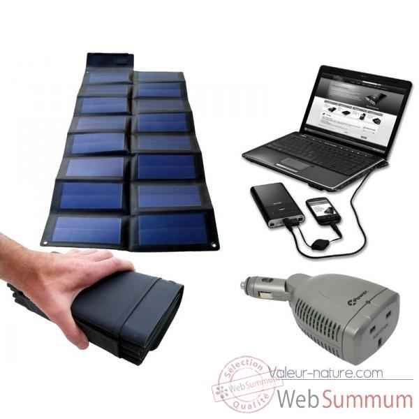Kit solaire portable universel KIT16MP3450-75W