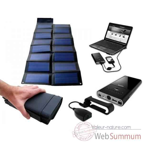 kit solaire mac portables de solariflex de chargeurs solaires sur valeur nature. Black Bedroom Furniture Sets. Home Design Ideas