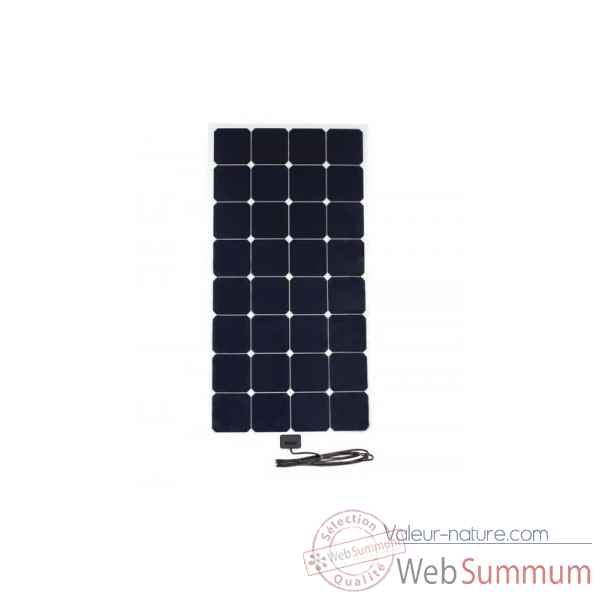 Kit solaire souple back-contact 100w camping-car Solariflex -KITCC-XFLEX-100
