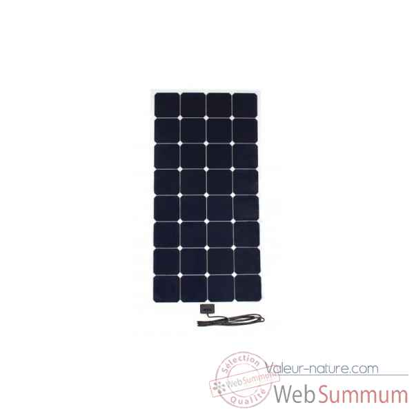 Kit solaire souple back-contact 120w camping-car Solariflex -KITCC-XFLEX-120