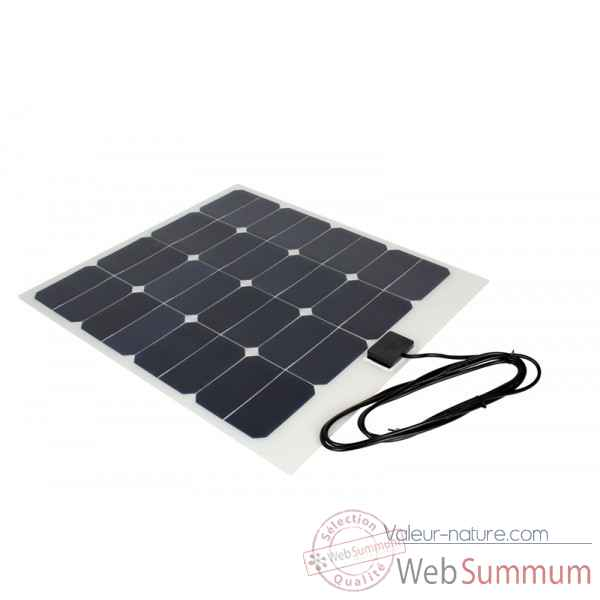 Kit solaire souple back-contact 50w camping-car Solariflex -KITCC-XFLEX-50