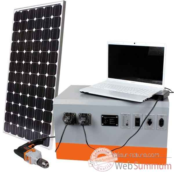 Powercube solar 140 / agm Solariflex -PC-140